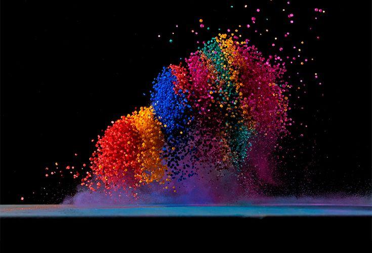 Fabian Oefner - Dancing Colors No. 4Colors Mania, Dance Colors, Fabian Oefner, Colours Pigment, Colors Pigment, Colors Numbers, Rainbows Colors, Photos Dance, Dance Colours