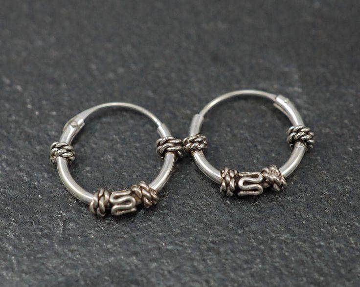A personal favorite from my Etsy shop https://www.etsy.com/listing/532985369/12mm-bali-hoop-earrings925-sterling