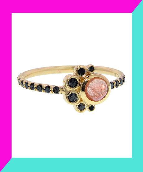 30 Dream Engagement Rings For The Anti-Diamond Girl #refinery29  http://www.refinery29.com/engagement-rings-diamond-alternatives
