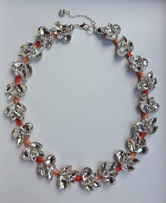 Check out this item in my Etsy shop https://www.etsy.com/ca/listing/551060259/rhinestone-and-coral-ribbon