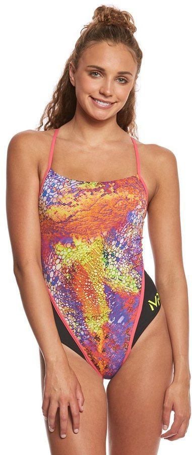MP Michael Phelps Women's Kiraly Racer Back One Piece Swimsuit 8159765
