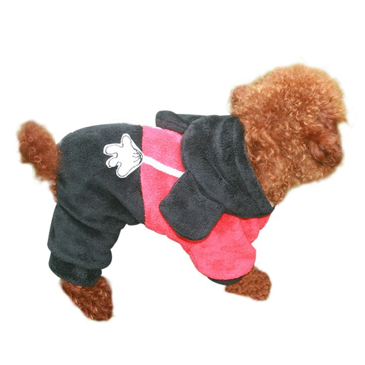 Pet's House Pet Animals Turned Legs Fitted Clothes Fall and Winter Clothes Dog Clothes Teddy Vip -- Startling review available here  : Dog Dresses