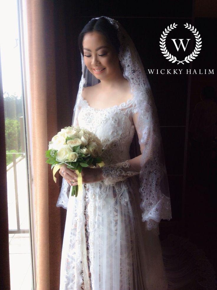 My make up wedding #natural #makeup #wedding #pengantin #eyeshadow #flawless #bridal #international  #wickkyhalim