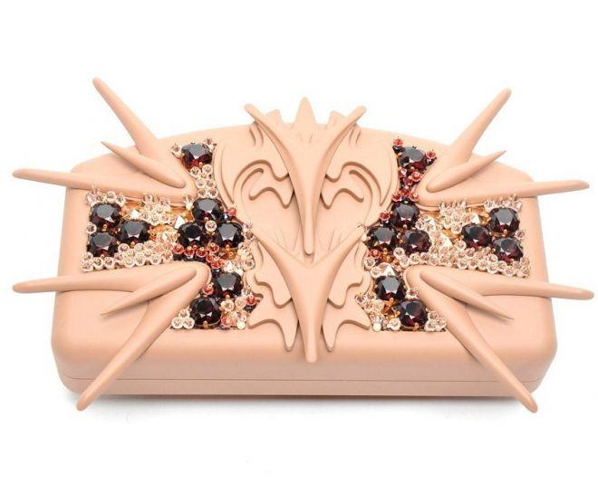Модная шкатулочка - сумочка-минудьер http://glange.net/blog/306.html