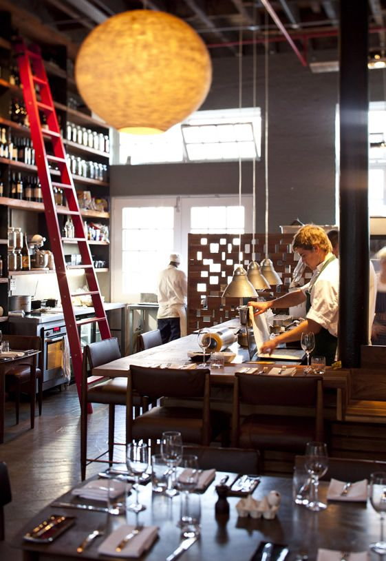The Test Kitchen, Cape Town   rising star showcases his talents in city's hippest neighbourhood...