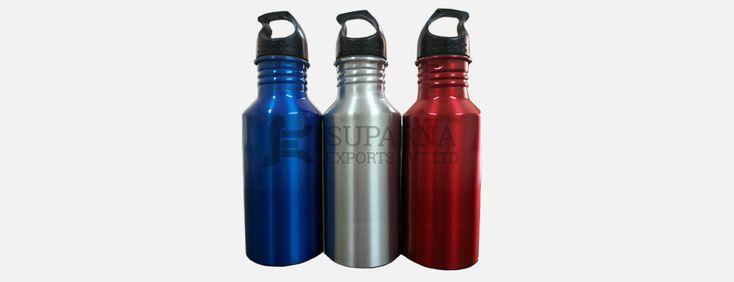 www.aluminumbottlecans.com/aluminum-sipper-bottles.php - Aluminium Sipper Bottles Manufacturers, Suppliers & Exporters In TamilNadu, India. Our Products are Aluminium Bottles with Screw Plugs, Aluminium Bottles with Plastic Caps, Screw Neck Aluminium Bottles, Bullet Aluminium Bottles, Aluminium Canister, Aluminium Jars.