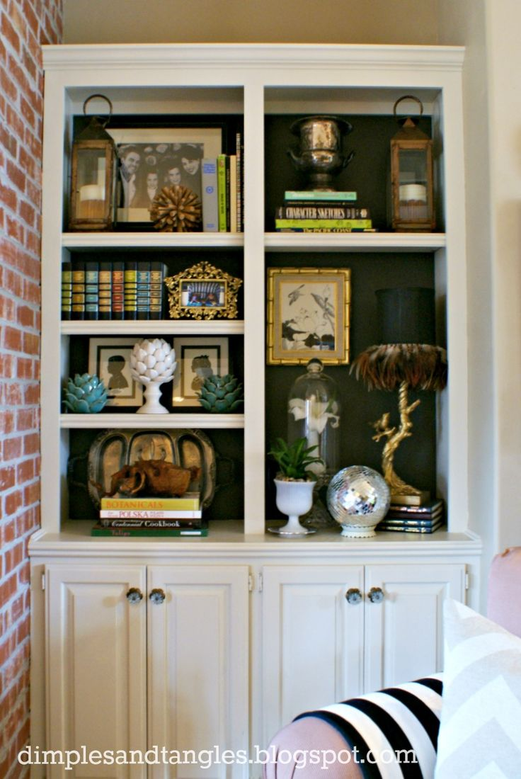accessories built in bookshelves - photo #2