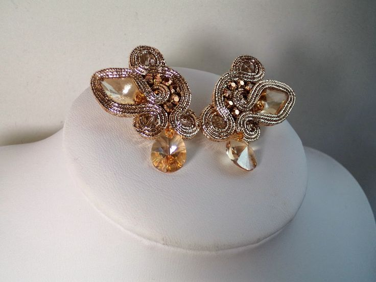 "Sutache Alexandry - unique jewellery: ""Eye of the Smaug"""