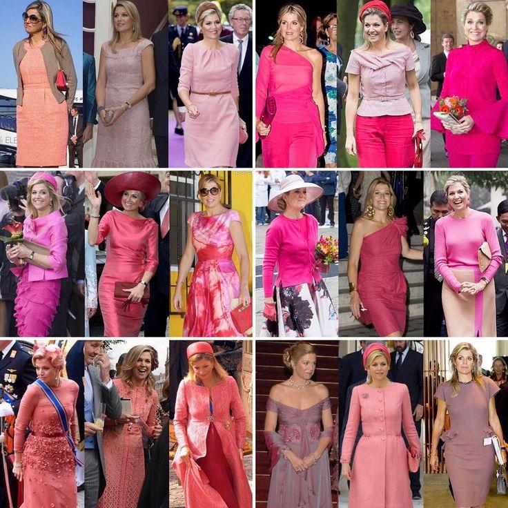 Queen Maxima in pink