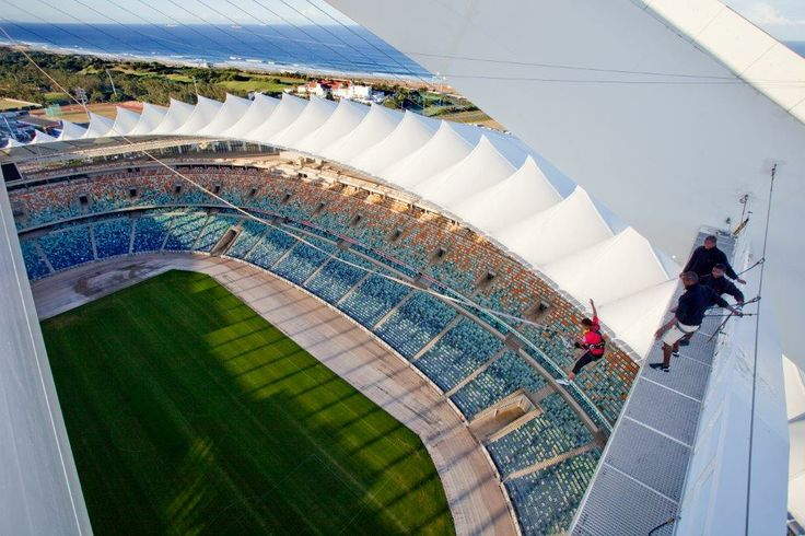 'Big Rush Big Swing' at Moses Mabhida Stadium (pic - Durban Tourism)