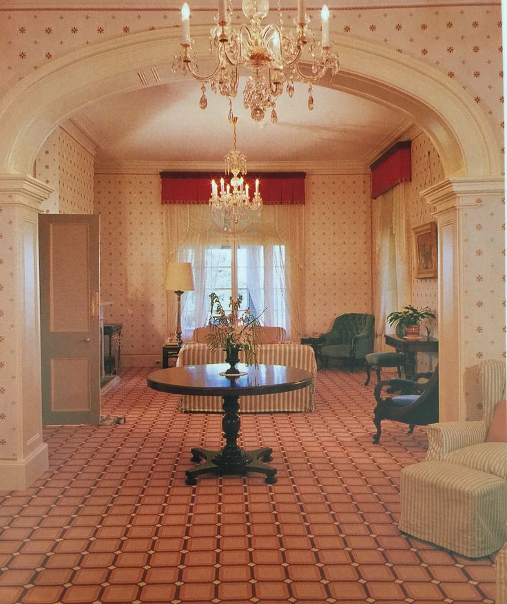 The Drawing Room, Kirribilli House, 1987.