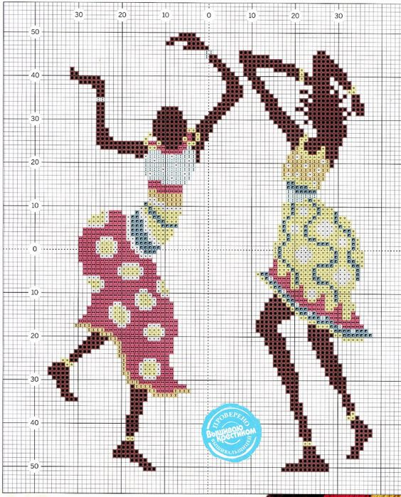 African Cross stitch *<3* 57_cr (564x700, 507Kb)