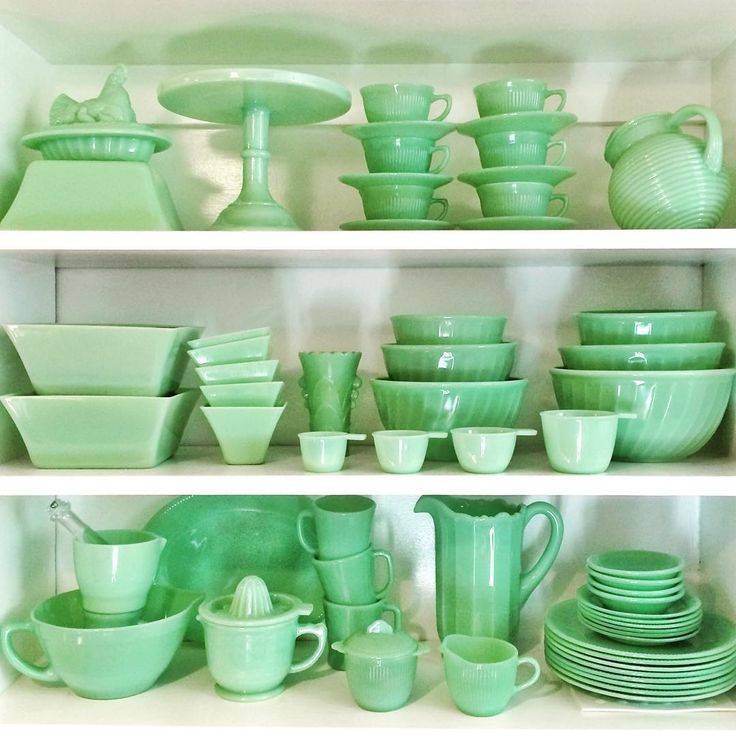 668 Best Images About Jadeite On Pinterest