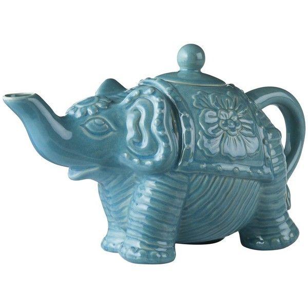 CALYPSO St. Barth for Target® Elephant Teapot  - have it and love it!: Calypso St. Barth, Elephants Teas, Teas Pots, Target Elephants, Elephant Teapots, Elephants Teapots, Calypso St Barth, Calypso Barth, Animal Teapots