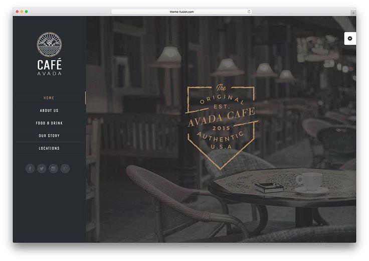 avada - local cafe WordPress theme