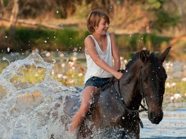 Family horse riding holiday in South Africa