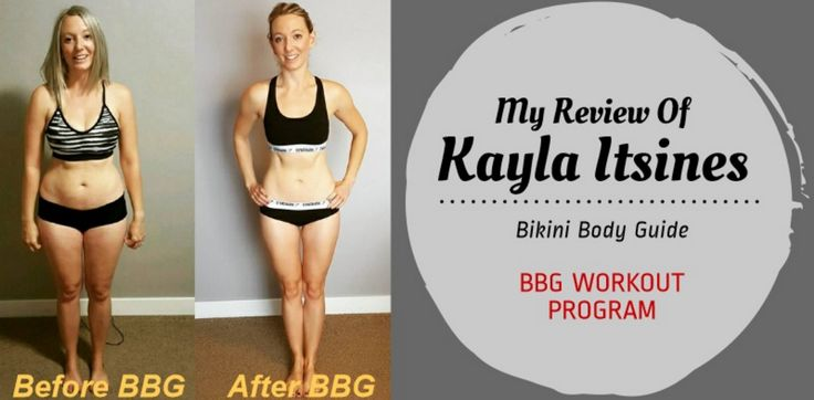 Kayla Itsines BBG Workout Review - My Bikini Body Guide Journey