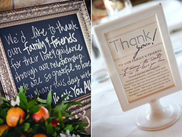 Thank You Gift To Wedding Planner : 25 Ways to Give Thanks at Your Wedding Wedding Planning, Ideas ...