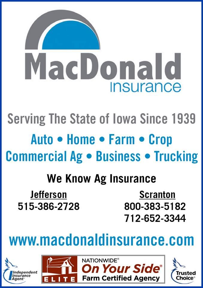 Contact Macdonald Insurance Agency Serving The State Of Iowa