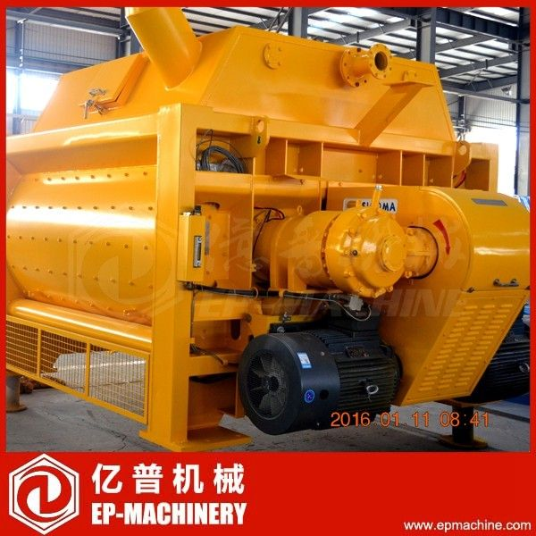 Hot sale BHS DKX4.00 twin-shaft batch concrete mixer 4m3 German technology