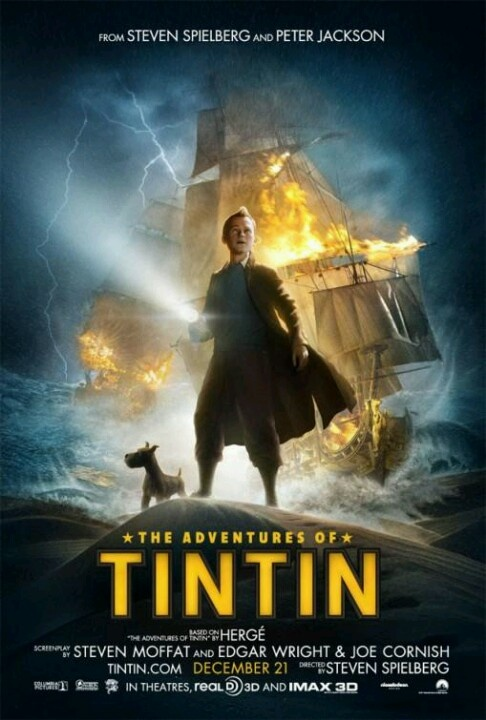 2011 - Las aventuras de Tintín. El secreto del Unicornio (The Adventures of Tintin. Secret of the Unicorn) - Steven Spielberg