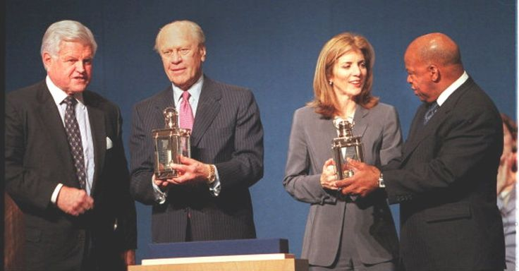 #Ted_Photos  http://en.wikipedia.org/wiki/Caroline_Kennedy   http://en.wikipedia.org/wiki/Profile_in_Courage_Award..[[President Gerald Ford was honored for his courage in making a controversial decision of conscience to pardon former President Richard M. Nixon. On September 8, 1974]]❤❤❤❤