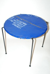Oil Drum Side Table