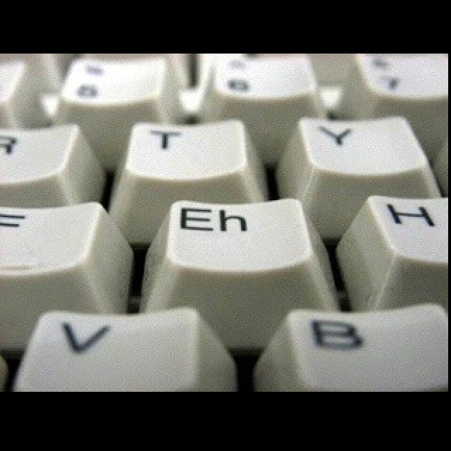 Canadian Keyboard. Eh, this is funny and true (in my case). via Marina Winkel