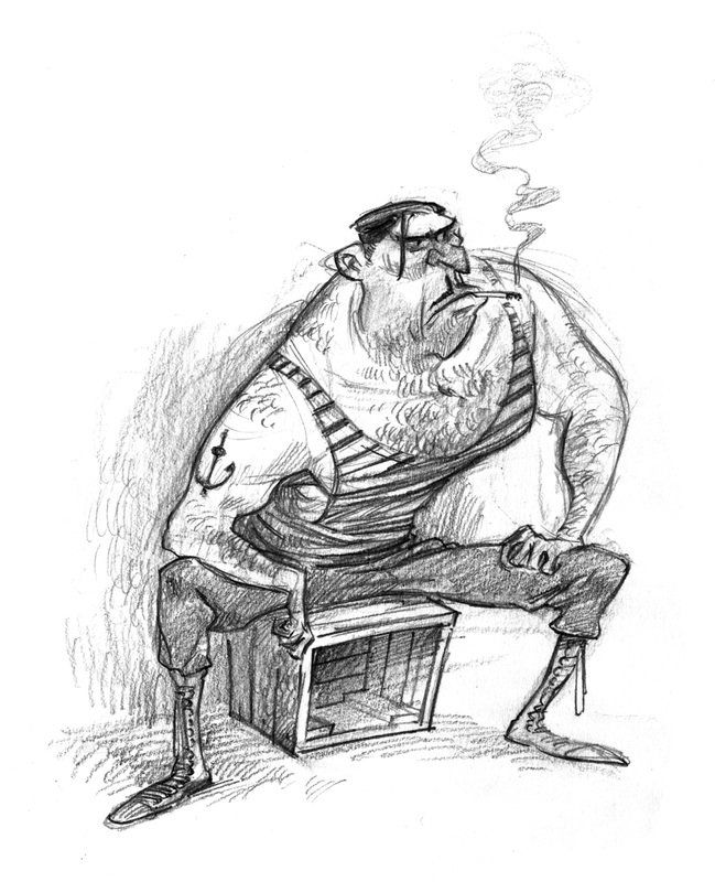 ArtStation - Pencilsketches, Wouter Tulp