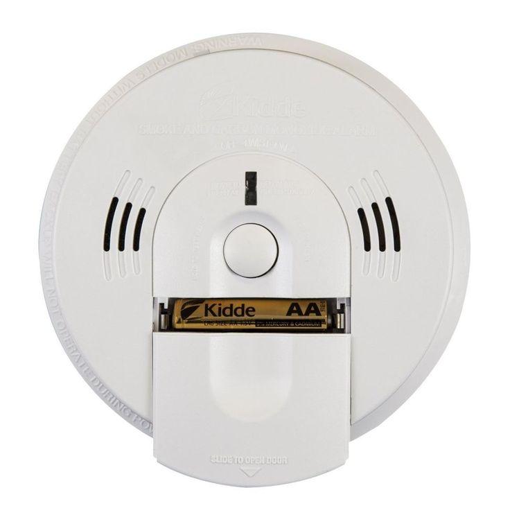 Kidde Battery-Operated(Not Hardwired) Combination Smoke/Carbon Monoxide Alarm #Kidde