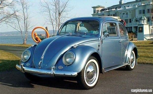 1958 Volkswagen Beetle Deluxe Sunroof Sedan: Glacier, Vintage Vee, Shades, Vw Beetles, Beetles Mania, Vw Bugs, Volkswagen Beetles, Vintage Vw, Beetles Delux