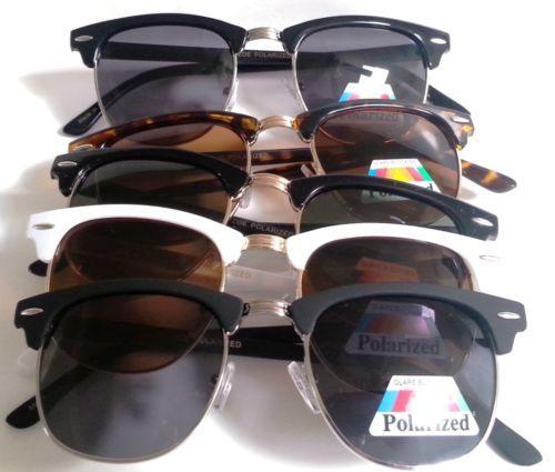 Polarized-Large-Clubmaster-Browline-Sunglasses-Glasses-Malcom-X