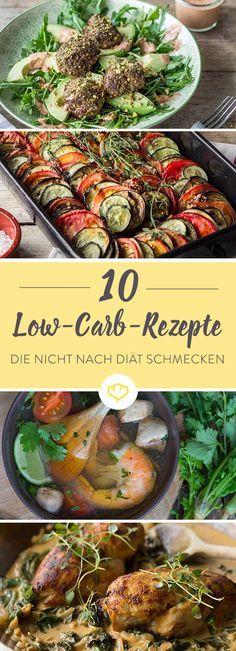 Bei Low Carb denkt man immer gleich an Gewichtsreduktion - dabei bedeuten weniger Kohlenhydrate nicht automatisch weniger Genuss. Wie bunt und abwechslungsreich die Gerichte sein können, haben wir für Sie in einer Auswahl zusammengestellt.