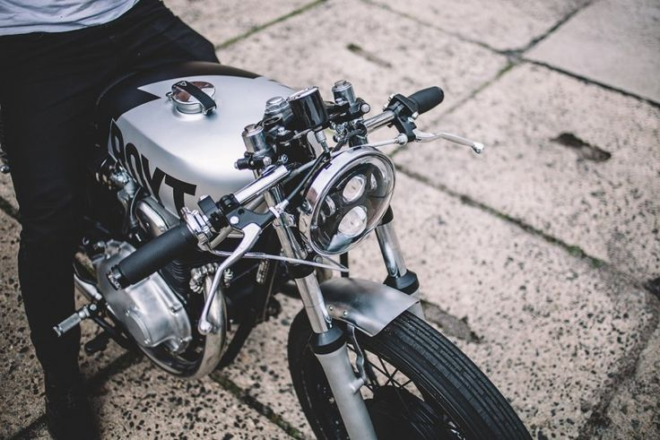 Gray Is the New Black: Hookie Co.'s Chic Honda CB250 Café Racer