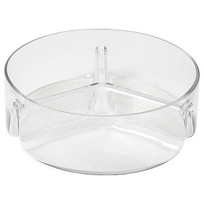 Three Sectioned Glass Serving Bowl – Target Australia