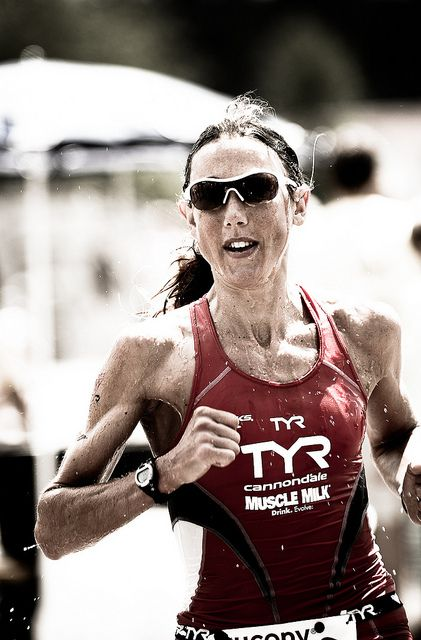 Chrissie Wellington - Queen of Long Course triathlon. Undefeated in 13 attempts at Ironman distance.