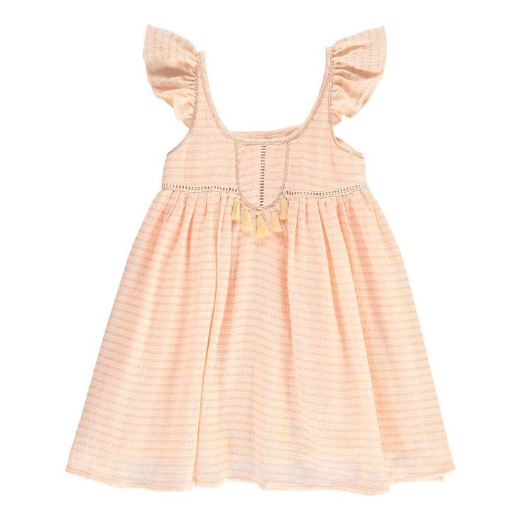Vestito Righe e Lurex Louise Misha Bambino- Una vasta scelta di Moda su Smallable, il concept store per tutta la famiglia - Più di 600 marche.