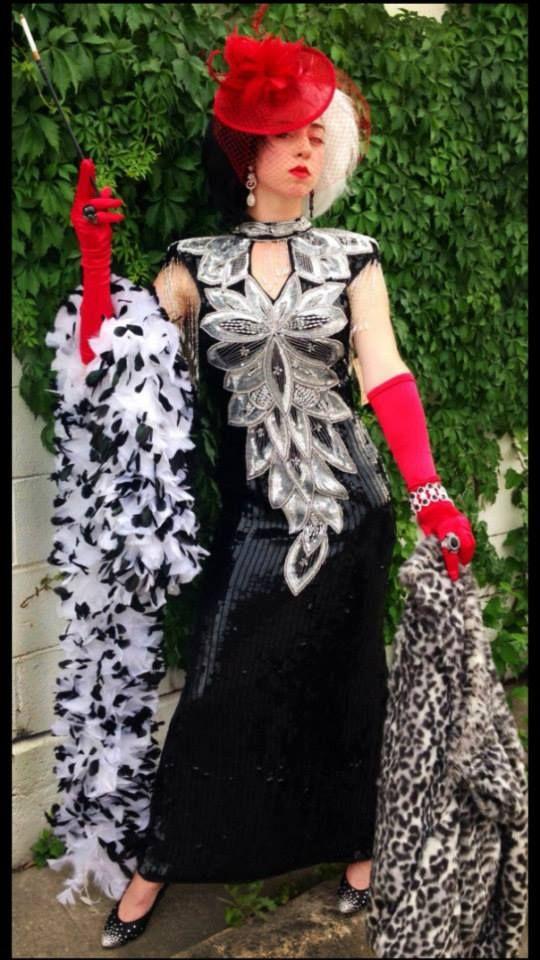 cruella deville costume disney cosplay disney villains 101 dalmatians 80s fashion - Cruella Deville Halloween Costume Ideas