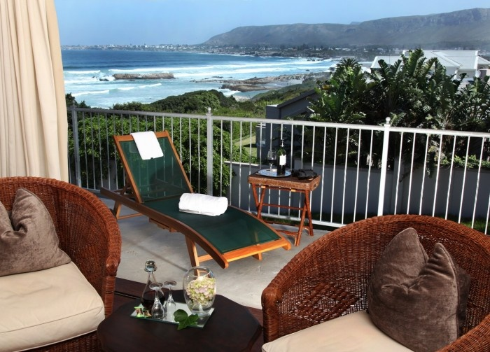 Stunning accommodation in Hermanus Beach Villa, South Africa