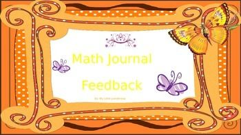Cut and paste feedback into students journals for extension of explanations. This is a great way to increase rigor in your classroom.  A must have!