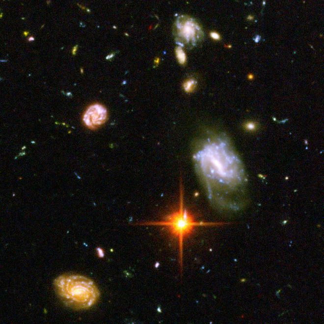 26 Cosmic Photos for the Hubble Space Telescope's Ultra Deep Field