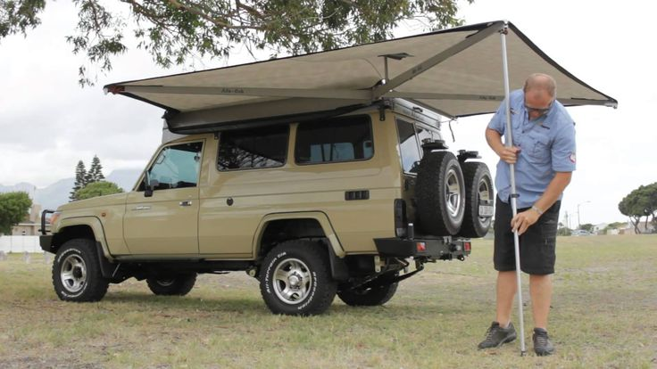 Alu Cab 270 Shadow Awn Camping Truck Topper Cargo