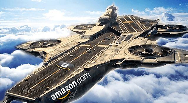 Amazon Pioneering Unique Flying Warehouse Drone Technology