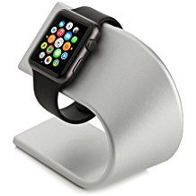 Arctic Aluminium Apple Watch Stand Stand Table Stand