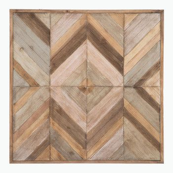Diamond Wood Wall Decor - Hobby Lobby  *Have Matt make this into 2 bi-fold doors for bar tv