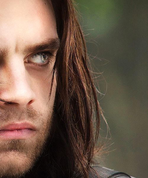 Sebastian Stan as The winter solider (aka Bucky Barnes)  This pic! *swoon*
