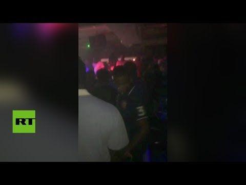 Un hombre abre fuego en un club nocturno de EE.UU. (VIDEO DEL MOMENTO EXACTO)