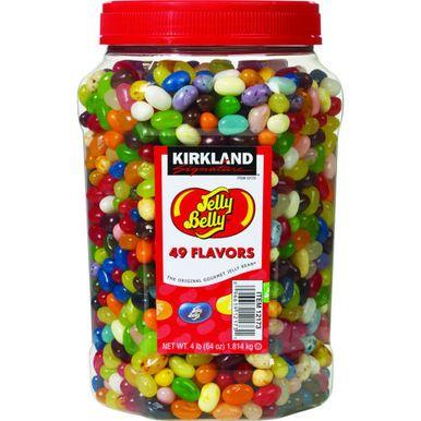 Kirkland Jelly Belly 49 Flavor Gourmet Jelly Beans, 64 oz.