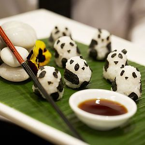 Incredibly Cute Meals Inspired By Japanese Cuisine - Panda Sushi