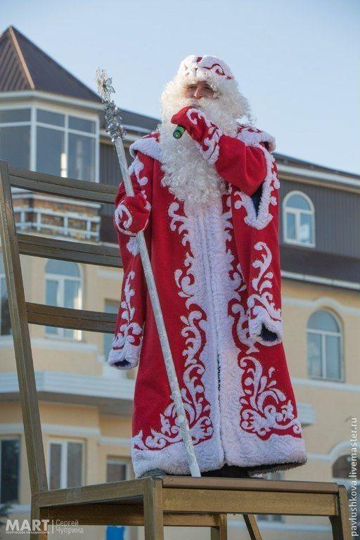 Купить Дедушка Мороз и Снегурочка(пара костюмов) - Новый Год, новогодний костюм, дед мороз, снегурочка